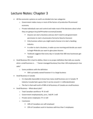Lecture Note for MGTA03, Lecture 3