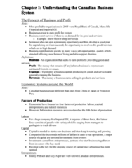 Study Guide for MGTA03, Chapter 1