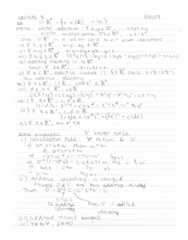 MAT223H1 Lecture Notes - Lecture 7: If And Only If, Euclidean Vector