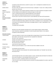 Chapter 4-7 Terms Study Guide