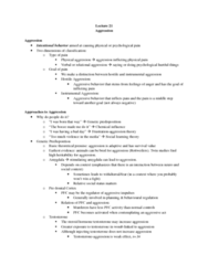 Lecture 21 Notes