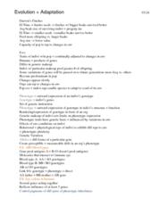 BIO120H1 Study Guide - Gene Pool, Eye Color
