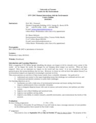 env-236y1-study-guide