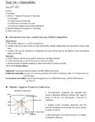 ECO101H1 Lecture Notes - Externality, Perfect Competition, Allocative Efficiency