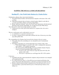 MSL NOTES ON READING #37