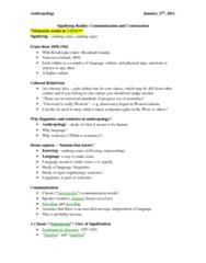 ANT100Y1 Lecture Notes - Social Constructionism, Franz Boas, Homo Sapiens