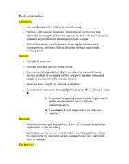 Exam Study Notes