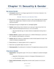 SOCA01H3 Study Guide - Social Constructionism, Gender Identity, Essentialism