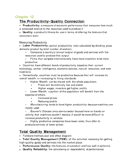 RSM100Y1 Lecture Notes - Organizational Culture, Supply Chain