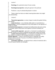 Key Terms from FOUNDATIONS OF SOCIETY Chapters 1 to 9 FOR TEST AND EXAM PREP