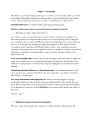 personality-chapter-one