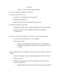 POL214Y1 Lecture Notes - Behaviorism, Corporatism, Robert A. Dahl