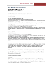 environment-march-9-lecture-notes
