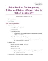 urbanization-lecture-1