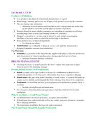 MGMA01H3 Chapter Notes - Chapter 10: Package Pilferage, Universal Product Code