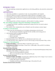 MGMA01H3 Chapter Notes - Chapter 19: Public Knowledge, Advertising Mail, Order Processing