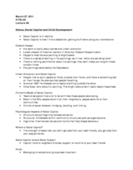 status-social-capital-and-child-development