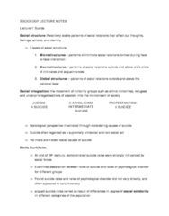 SOCA01H3 Lecture Notes - Solidarity, High High