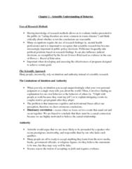 psyb01-textbook-notes-chapter-1
