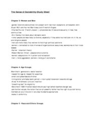 study-sheet
