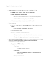 Chapter 16 Lecture notes + Slides
