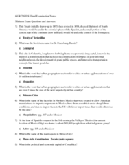 finals study guide part 1