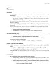 social problems chapter 4 notes