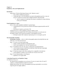 social problems chapter 14 notes