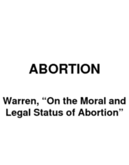 warren-on-the-moral-and-legal-status-of-abortion-