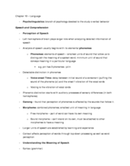 PSYA02 chapter 10 notes