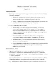 MGHD27H3 Study Guide - Machinist, Social Influence, Reinforcement