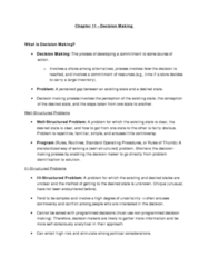 MGHD27H3 Study Guide - Confirmation Bias, Sunk Costs, Bounded Rationality