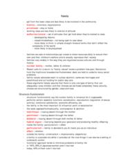 SOCA01H3 Study Guide - Monogamy, Heterosis, Patrilineality