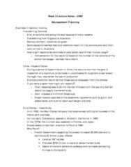 management-planning