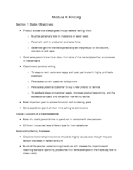 Module 8 Notes