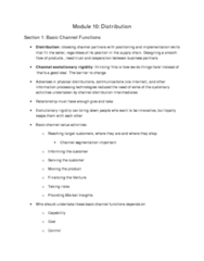 Module 10 Notes