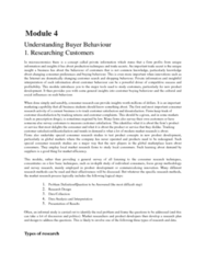 MKT 100 Lecture Notes - Customer Satisfaction, Trade Secret, Service Design