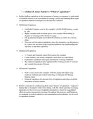 MGMT 1030 (Business History): Final Exam - Summaries for Readings in CourseKit