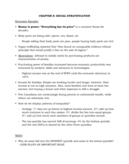 SOCA01H3 Chapter Notes - Chapter 8: Cultural Capital