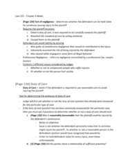 Law 122 - Chapter 6 Notes