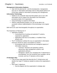 full-textbook-summary-cad-2-ed-management-information-systems-cad-2-ed-i-have-made-these-notes-from-reading-the-textbook-and-used-the-same-notes-to-study-for-midterm-1-2-and-final-