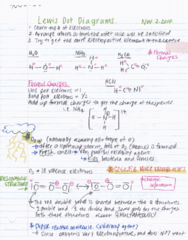 Chapter 10 - Lewis + VSEPR Theory These notes are rewritten notes, and I rewrote them while listening to the lecture again (recorded the lecture) - guaranteed to include everything important the professor has said during lecture. Topics covered this lect