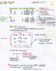 Chapter 11 + 12 - Molecular Orbital Theory & Intermolecular Interactions These notes are rewritten notes, and I rewrote them while listening to the lecture again (recorded the lecture) - guaranteed to include everything important the professor has said du