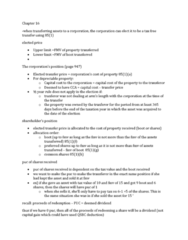 Chapter 16 summary notes Summary of chapter 16. Useful to look over before exam or doing homework.