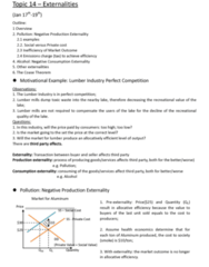 ECO101H1 Study Guide - Final Guide: Allocative Efficiency, Coase Theorem, Cost