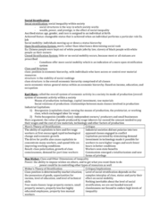 social-stratisfaction-textbook-notes