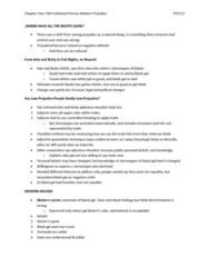 PSYC12 Prejudice - Chapter 5 Notes