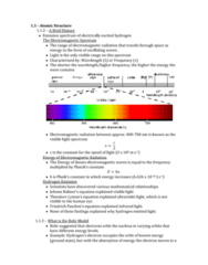 Chemistry 1027A/B Chapter Notes - Chapter 1: Wxlm