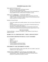 SOC101Y1 Lecture Notes - Quasi, Meritocracy