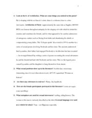 Classical Studies 3400E Lecture Notes - Hipponax, Sex Position, Oral Sex